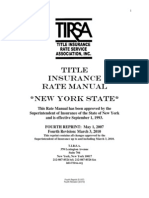 TIRSA Rate Manual