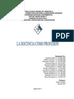 LA DOCENCIA COMO PROFESION.docx