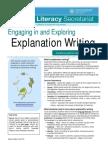 Explanation Text Chart
