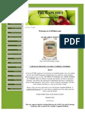 gaps diet adhd food list pdf