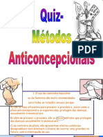 Quiz Anticoncepcionais