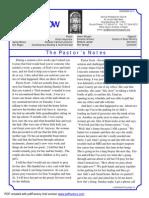 Central Presbyterian November Newsletter