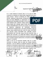 Acuerdo ATVC 31-07-09