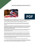 Polos opuestos las causas de la confrontación actual entre EE.UU. y Rusia
