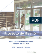 Proyecto de Gestión Convocatoria Supervisor de Cuidados UGC Especialidades Médicas