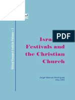 Israelite festivals and Christian Church BRI - Ángel Manuel Rodríguez
