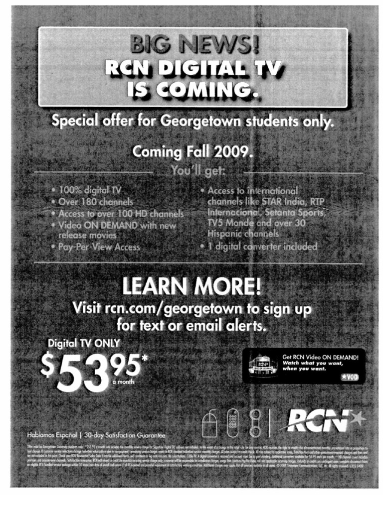 RCN Cable