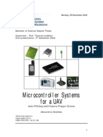 Microcontroller Systems for a UAV