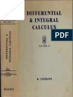 Courant DifferentialIntegralCalculusVolIi