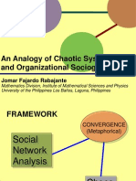 ICMEP Rabajante Organizational Sociogram and Chaos Theory