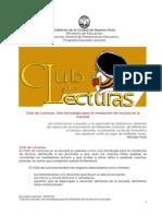 Clublecturas2012MUY BUENO