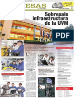 Sobresale infraestructura de la UVM