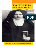 S. Teresa di G. B. - Novena della fede