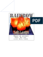 Rainbow Salt Lamp 1