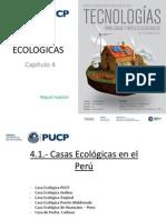 4. CASAS ECOLOGICAS Curso Tecnologias Para Hoteles Ecologicos 3 Mayo 2013