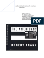 Lalo Borja - Robert Frank o la desmitificación del sueño americano