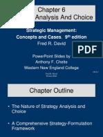 6.Analisis & Pemilihan Strategi