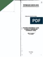 2-251-02-Pemex-Evaluación de Características y Valores de Garantía de Transformadores de Distribución y Potencia