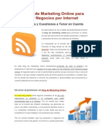 Un Blog de Marketing Online Para Hacer Negocios Por Internet