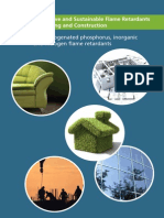 Innovative and Sustainable Flame Retardants in Building and Construction - Pinfa 2013