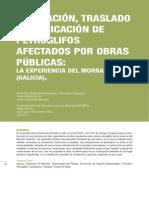 EXCAVACIÓN, TRASLADO Y REUBICACIÓN DE PETROGLIFOS LA EXPERIENCIA DEL MORRAZO GALICIA