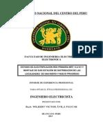 Informe Profesional de Wilber Avila