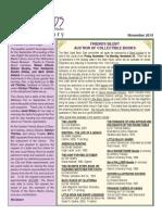 Sierra Madre Library Friends Newsletter - November 2013