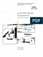 Source Water Quality
