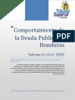 TSC Deuda Publica de Honduras en 2012