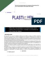 Estudio Tiempo Empresa Plasticos Barranquilla