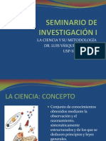 SEMINARIO DE INVESTIGACIÓN I