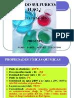 El Acido Sulfurico