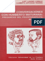 Conversaciones Con Humberto Maturana