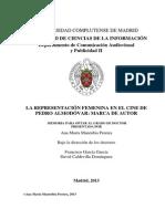 Representacion Femenina en Almodovar - Universidad Complutense de Madrid