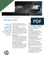 HP Mini 5101 Datasheet