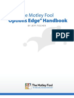 "The Motley Fool ""Options Edge"" Handbook"