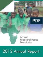AFPF 2012 Annual Report