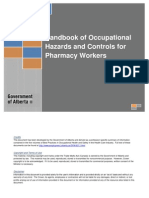 Hazard Controls for Pharmacy Workers