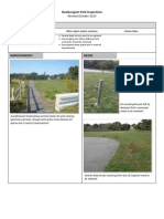 Fall 2013 Parks Inspection Report