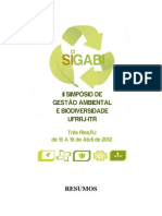 Resumos II Sigabi - 2013