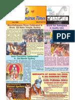 Shri Sai Sumiran times for July 2009 in English