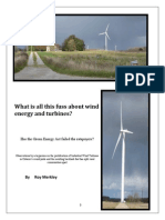 What is all this fuss about wind energy and turbines