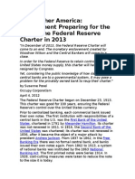 The Federal Reserve charter
