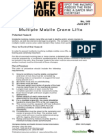 Bltn149 - Multiple Crane Lifts