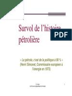 Petite Histoire Du Petrole