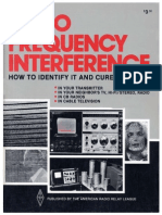 Radio Frequency Interference  How to Identify