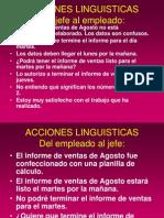 ACCIONES LINGUISTICAS.pps
