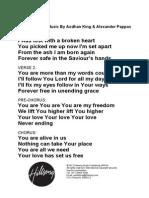 Alive Lyrics