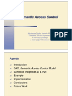 Sac 1 Semantic Access Control