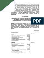 Ley de Ingresos Mendoza 2013